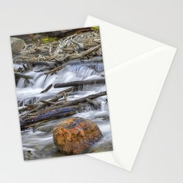 Rusty Red Rock Stationery Cards