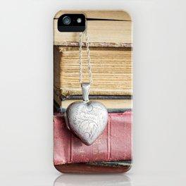 College Romance iPhone Case
