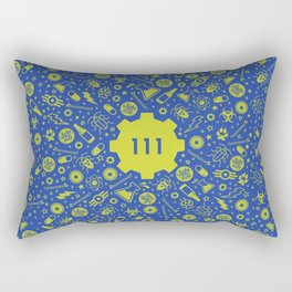 Fallout 4 Vault 111 Rectangular Pillow