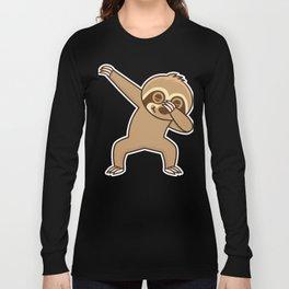 Sloth dab Long Sleeve T-shirt