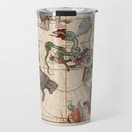 Ignace-Gaston Pardies - Globi coelestis Plate 1: Ursa Major, Ursa Minor, Perseus, and others Travel Mug