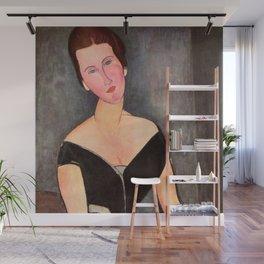 "Amedeo Modigliani ""Portrait of Madame Georges Van Muyden.jpg Wall Mural"