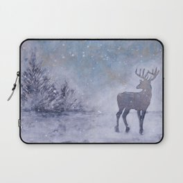 Winter Stag Laptop Sleeve