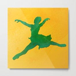 AP124 Watercolor dancer Metal Print