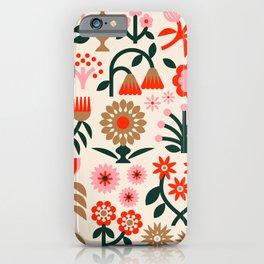 Winter Wrap: White iPhone Case