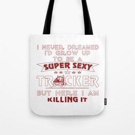 Super Sexy TRUCKER Tote Bag