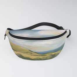 original abstract landscape painting number 8 Fanny Pack