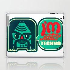 I'm Into Techno Laptop & iPad Skin