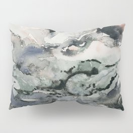 Dark Geode Pillow Sham