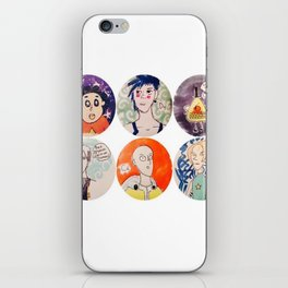 All Together iPhone Skin