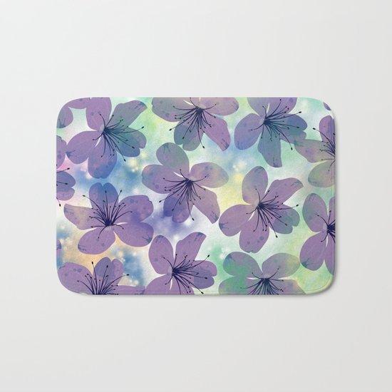 Floral Pattern #4 Bath Mat