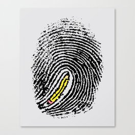 Creative Touch Canvas Print