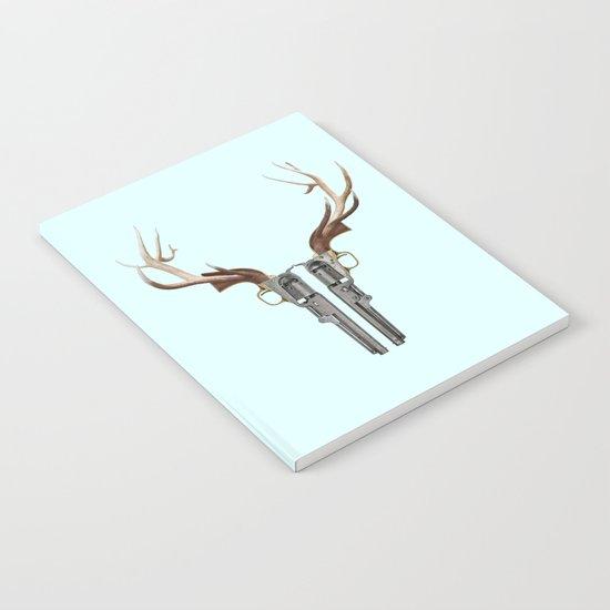 GUN SKULL Notebook