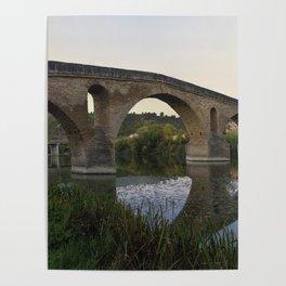 Mediaeval Bridge Poster