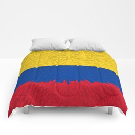 Extruded flag of Columbia Comforters