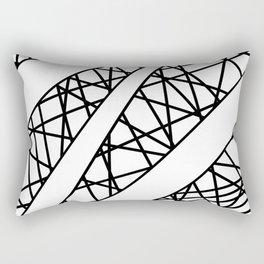 Lazer Dance X Rectangular Pillow