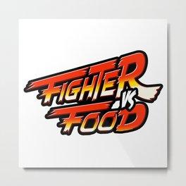 """Street Fighter"" Metal Print"