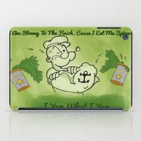 popeye iPad Cases featuring Popeye  by ItalianRicanArt