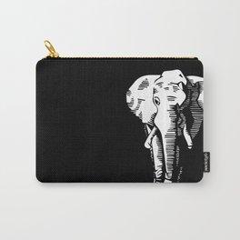 Dark Elephants Carry-All Pouch
