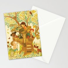 Our House In the Woods Stationery Cards