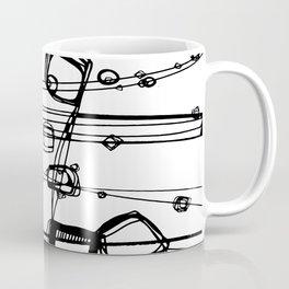 Doodle Love 3A by kathy Morton Stanion Coffee Mug