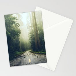 Redwood Forest Adventure - Nature Photography Stationery Cards