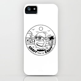 Ghost from the Coast iPhone Case