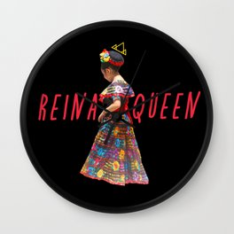 REINA | QUEEN Wall Clock