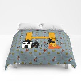 H is for Halloween Comforters