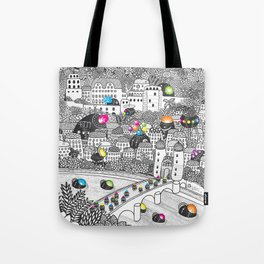 Locals Only - Heidelberg, Germany Tote Bag