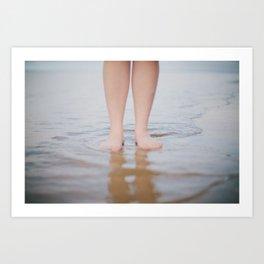 Wading Art Print