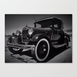 the good old days Canvas Print