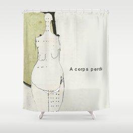 « à corps perdu » Shower Curtain