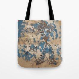 1970 | CLOWN | CLOUDY Tote Bag