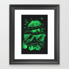 Hipster Invasion Framed Art Print
