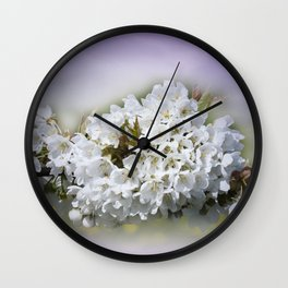 fruit tree in our garden Wall Clock