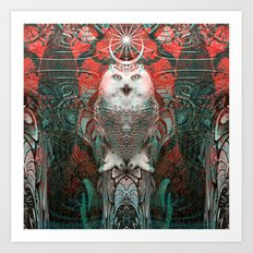 The Owls are Beautiful Art Print