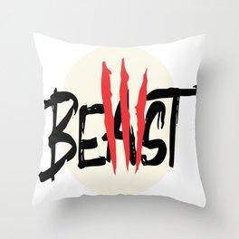 Beast Throw Pillow