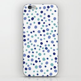 Bubble Rocks-Blue : Part of Organic Medallion collection iPhone Skin