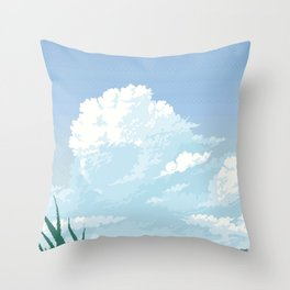 Cloudfront Throw Pillow