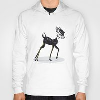 bambi Hoodies featuring BAMBI by kravic