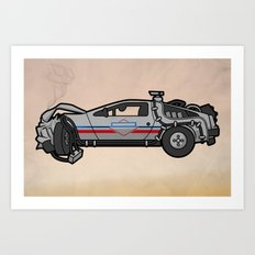 licensed to hill valley. Art Print