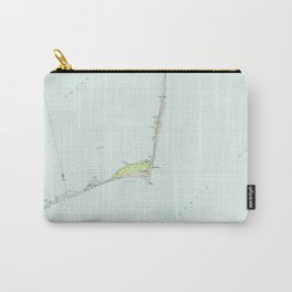 Cape Hatteras National Seashore Map (1985) Carry-All Pouch