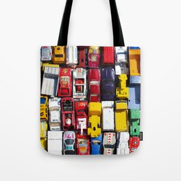 Toy Cars Tote Bag
