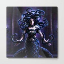 Goddess of snakes Metal Print