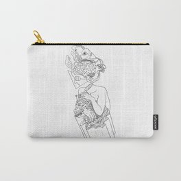 Input-Output Carry-All Pouch