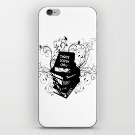 Mad About Books iPhone Skin