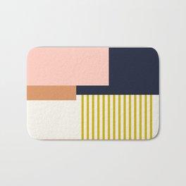 Sol Abstract Geometric Print in Multi Bath Mat