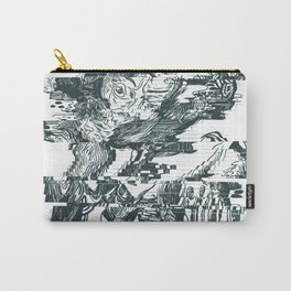 glitch1 Carry-All Pouch