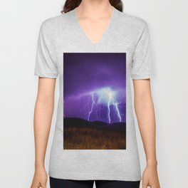 Foothills Lightning Unisex V-Neck